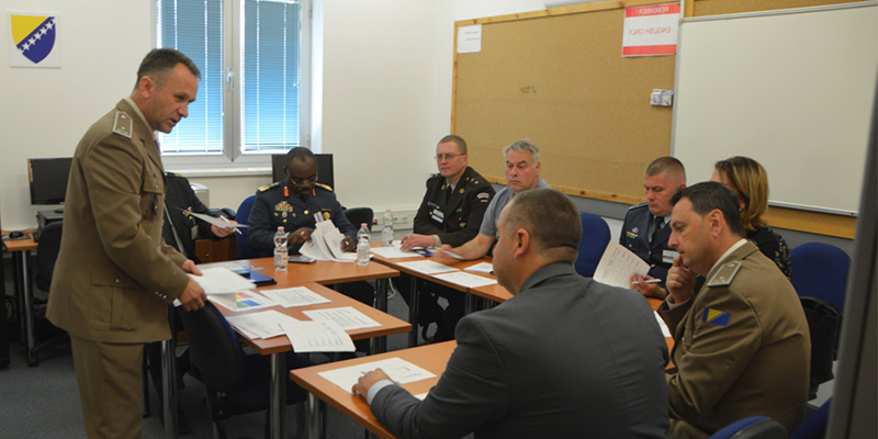 Orientation Course For Defence Officials for Western Balkan Countries 2022