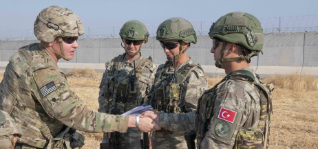 US and Turkish soldiers