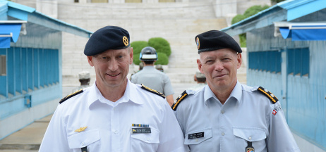 GCSP ITC-LISC Alumni – Where are they now? No. 2, Major Generals Mats Engman and Urs Gerber